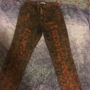 Vibrant miu high waisted skinny jeans